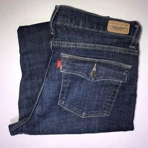 Levi's 512 Perfectly Slimming Boot Jeans 14P M 27